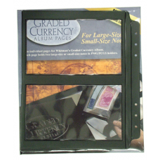 Whitman - 10 Refill Pages for Premium PMG Graded Currency Album