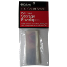 Whitman - PVC Free Storage Envelopes - Small #842097