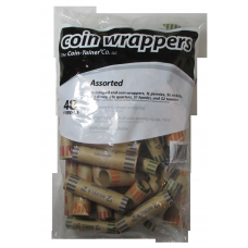 MMF - 48 Mixed Preformed Coin Wrappers
