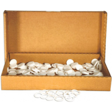 Air Tite - 18mm Rings - Bulk White Rings - 250ct