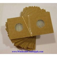 Cowens Mylar Cardboard Dime 2x2's 100ct Pack