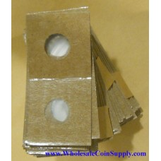 Cowens Mylar Cardboard Cent 2x2's 100ct Pack