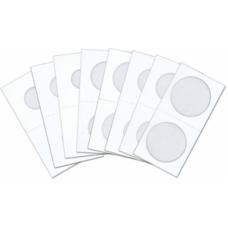 Cowens Mylar Cardboard Small Dollar 2x2's 100ct Pack