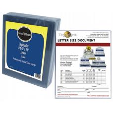 Guardhouse Letter Size Toploader Sleeves