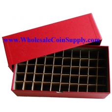 Guardhouse - Coin Tube Box - Red (Cents)