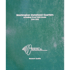 Intercept Shield - Washington Statehood Quarters w/Proof 2004-08