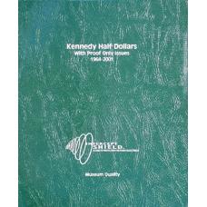 Intercept Shield - Kennedy Half-Dollars 1964-2001 w/Proofs