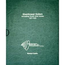 Intercept Shield - Eisenhower Dollars 1971-1978 w/ Proofs