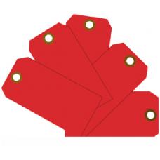 MMF - Plain Eye-Loop ID Tags - Red