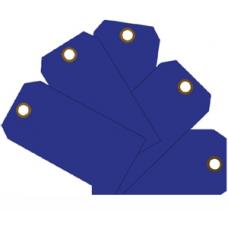 MMF - Plain Eye-Loop ID Tags - Blue