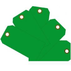 MMF - Plain Eye-Loop ID Tags - Green