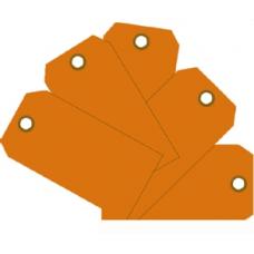MMF - Plain Eye-Loop ID Tags - Orange