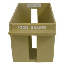 Half Dollar Rolled Large Capacity Coin Trays