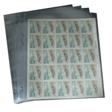 Supersafe - 1 Pocket Mint Sheet Archival Polyproplyene Pages, Cl